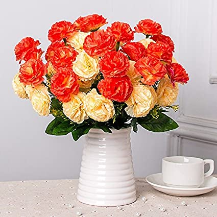 Flores artificiales de seda de flores flores flores de plástico mesa decoracion Decoracion de interiores arte