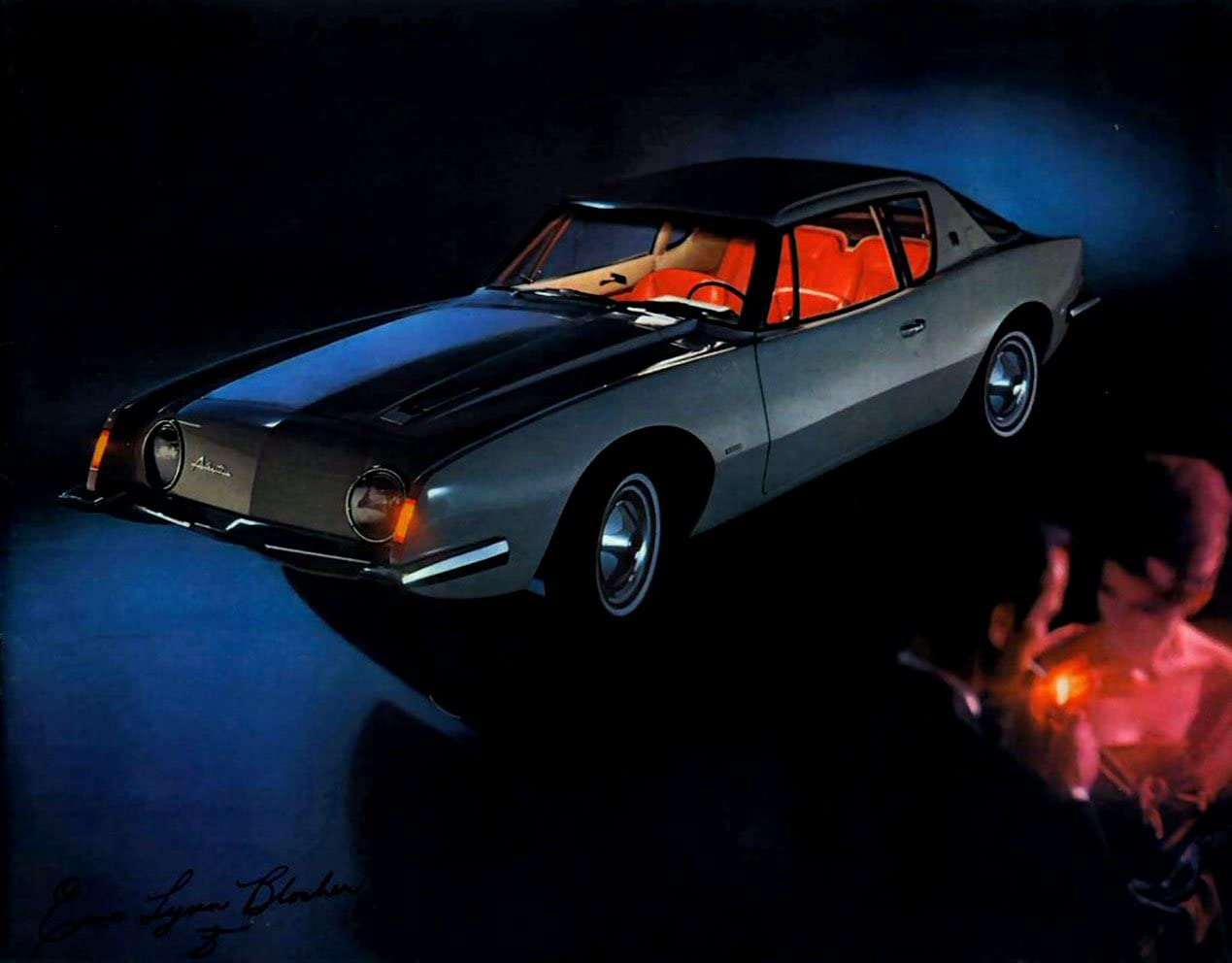 Hawk 1963 Studebaker Sales Brochure Avanti Cruiser Lark