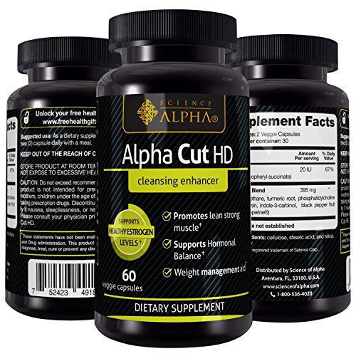 Alpha Cut HD Dietary Suplement (60 Veggie Capsule)