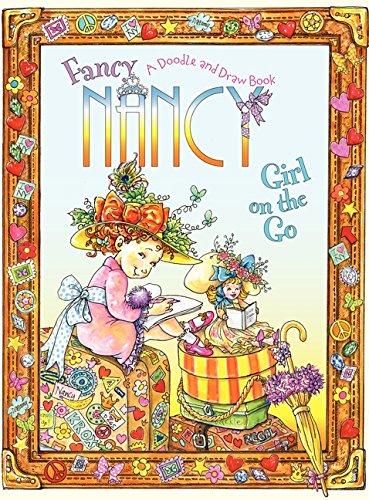 Fancy Nancy Girl Doodle Draw