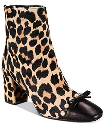 1ec8035553816 Amazon.com | KATE SPADE. New York Orton Cheetah-Print Booties Amaretto Cheetah  Print 8m | Boots