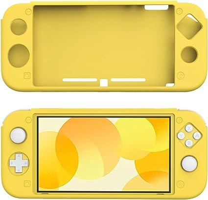 TiMOVO Funda Compatible con Nintendo Switch Lite, Cubierta Protectora Silicona Resistente, Accesorio de Decoración ...