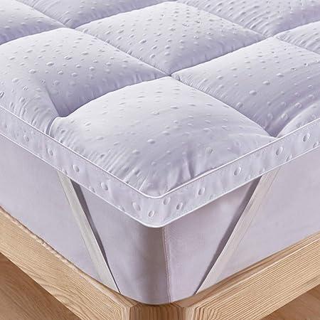 Bedecor Coprimaterasso in Microfibra Extra-Morbido,Adatto Anche per materassi a Molle e ad Acqua 160x200cm