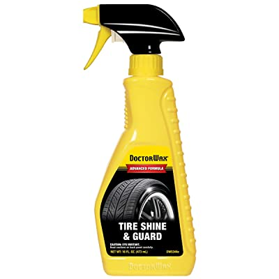 DOCTORWAX DW5344e Tire Shine and Guard - 16 fl. oz.: Automotive