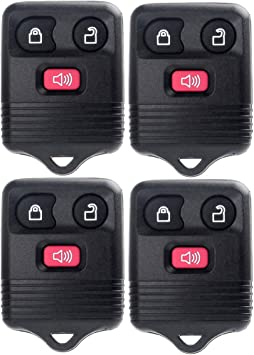TUPARTS 2 X Keyless Entry Remote Car Key Fob Compatible for 03-06 08 10 12-14 Ford E-150 Car Keyless Entry Remote Replacement for WTWB1U212