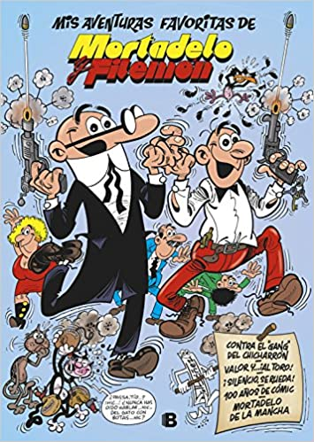 ¡al toro! | ¡Silencio, se rueda! | 100 años de cómic | y otras aventuras Mis aventuras favoritas de Mortadelo y Filemón: Amazon.es: Francisco Ibáñez: Libros