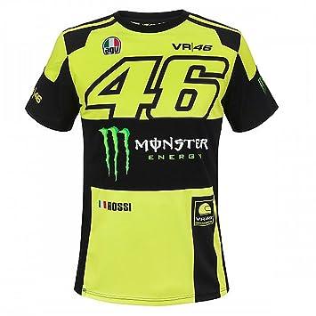 d1bf6c9df Valentino Rossi VR46 Moto gp monster energy T-shirt officiel 2018