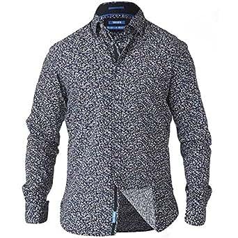 bd71726c35e58 D555 - Camisa Casual - Manga Larga - para Hombre  Amazon.es  Ropa y  accesorios