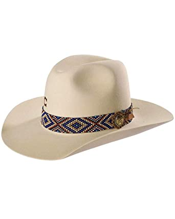 c31d88d6d2d15 Charlie 1 Horse Unisex Ivory Old Hag 5X Felt Hat at Amazon Men s Clothing  store