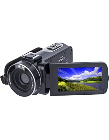 Camera Camcorder Sosun Hd 1080p  0 Inch Lcd 270 Degrees Rotatable Screen 16x