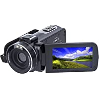 bfd471d61 Video Camera Camcorder SOSUN HD 1080P 24.0MP 3.0 Inch LCD 270 Degrees  Rotatable Screen 16X