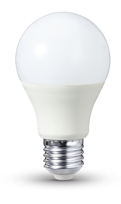 AmazonBasics - Bombilla LED E27, 9 W equivalente a 60 W, 806 ...