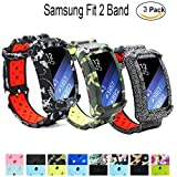 Samsung Gear Fit2 Gear Fit2 Pro Watch Band - Budesi Replacement Strap For Samsung Smart Watch Galaxy Gear Fit 2 SM-R360 Fit 2 Pro Fitness Tracker