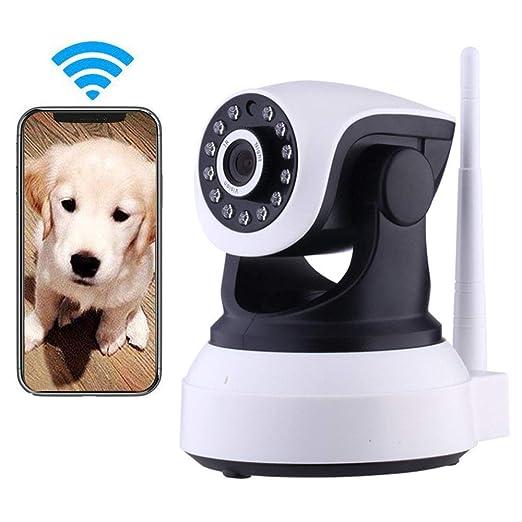 LEERAIN Cámara Perro, Cámara IP WiFi, Vigilancia Inalámbrica, Bebé ...