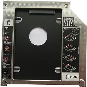 Generic 2nd Hdd Sdd Hard Drive Caddy for Apple Macbook Pro Mb991lla MC226lla MC371lla MC372lla