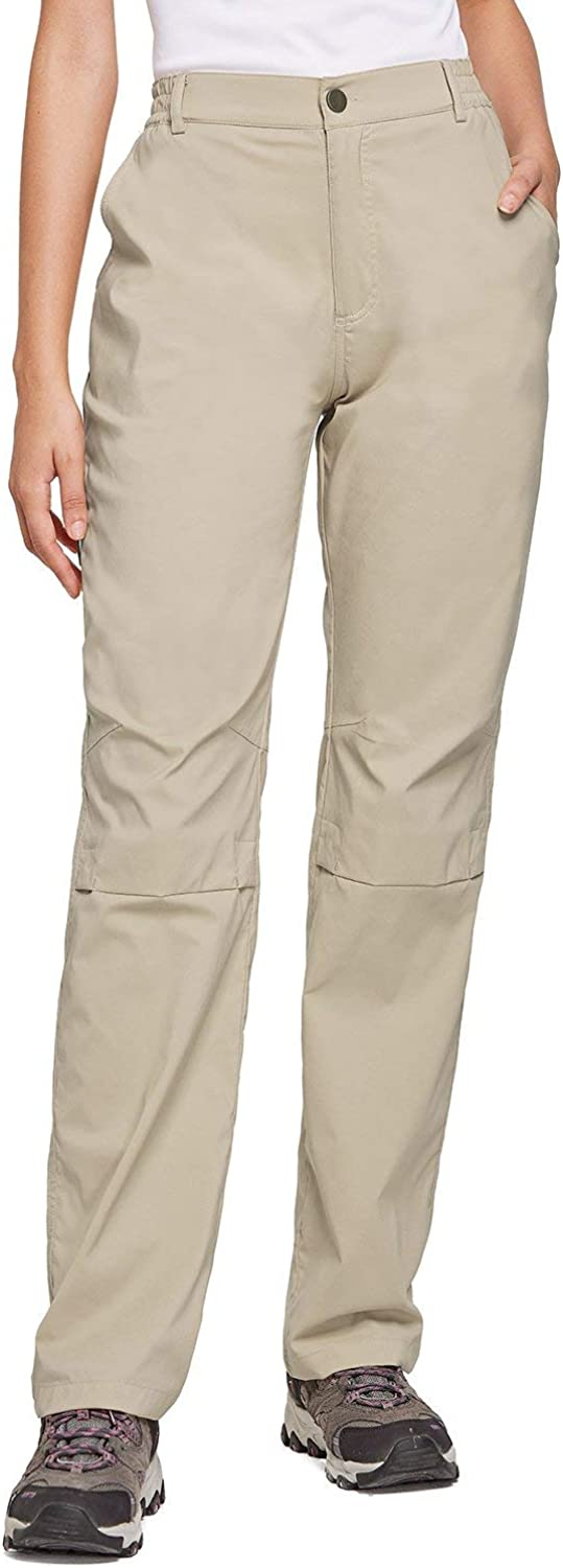 BALEAF Women's Lightweight Hiking Pants Convertible Roll Up UPF 50 Stretch Outdoor Capri Pants Water Resistant : Clothing