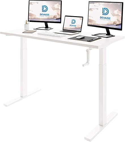 DEVAISE Height Adjustable Standing Desk
