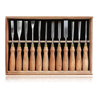 Herramientas de tallado en madera Kit de cuchillos para goma ...