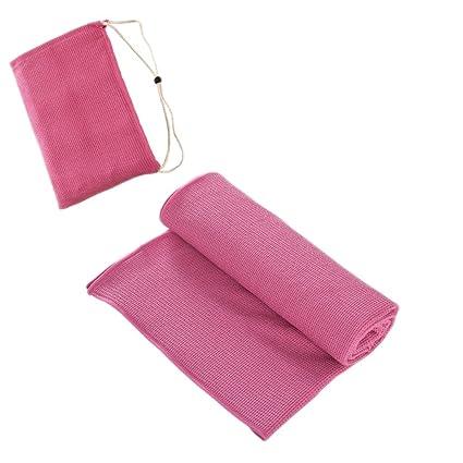 YB- Juego de toallas y toallas de yoga Mat - 100% microfibra, antideslizante, agua súper (elija ...