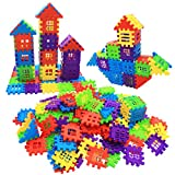 MICHLEY Builder Sets for Kids 140-Piece Interlocking Builders Blocks, Classic