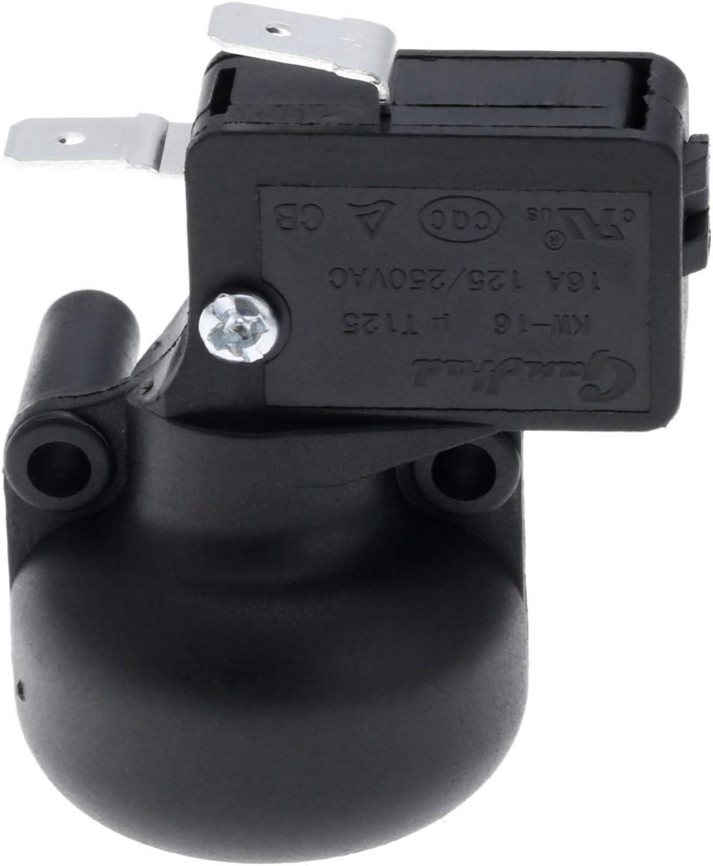 2PCS FD4 High Power Dump Tip Over Switch Fire Safety Tilt Sensor Shut Off 20A