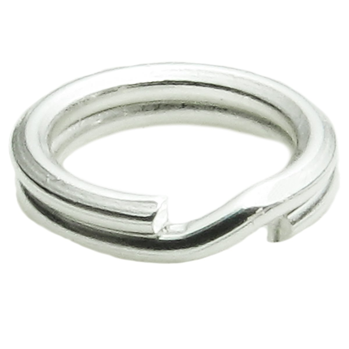 78d6881c4714e 20 pcs 925 Sterling Silver 6mm Round Split Jump Rings 22ga Gauge / 0.6mm  Wire Connector for Charm