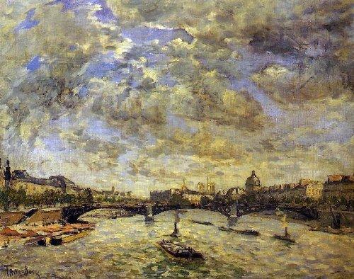 Frank Myers Boggs The Pont Carousel, Paris - 20.1