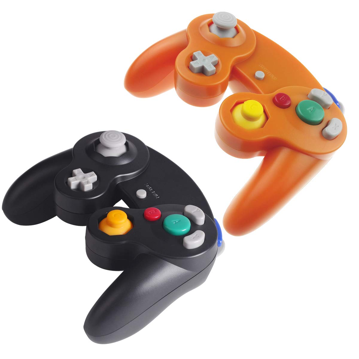 TechKen Wii Controller Gamecube Wii U Replacement Wired Classic Controller Gamepad Compatible with Nintendo Gamecube Wii