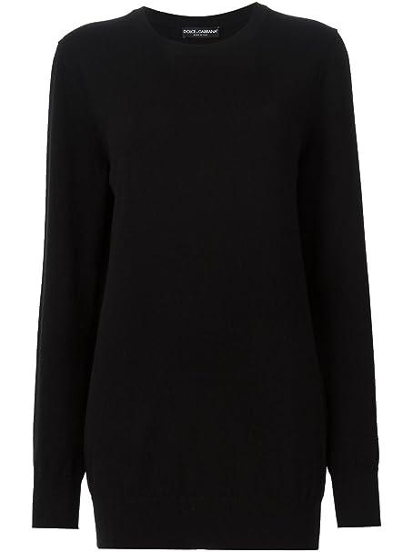 6e961506dd Dolce E Gabbana Maglione Donna Fm067kf54fmblack Lana Nero: Amazon.it ...