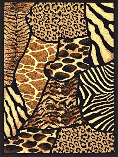 giraffe skin rug