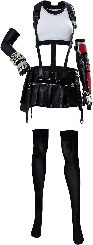 Final Fantasy VII FF7 Tifa Lockhart Remake Cosplay Kostüm Stiefel