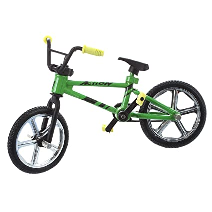 Amazon Com Sodial R Finger Bicycle Miniature Toys For Children