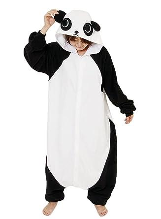 aa47670aaf Amazon.com  Y L Women Adult Unisex Onesies Cosplay Costumes Romper Cartoon Pajamas  Nightwear Panda  Clothing