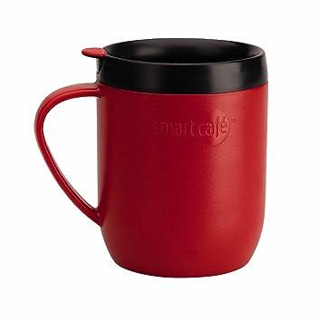 7595b7399ec Smartcafe Cafetiere Hot Mug, Red: Amazon.co.uk: Kitchen & Home