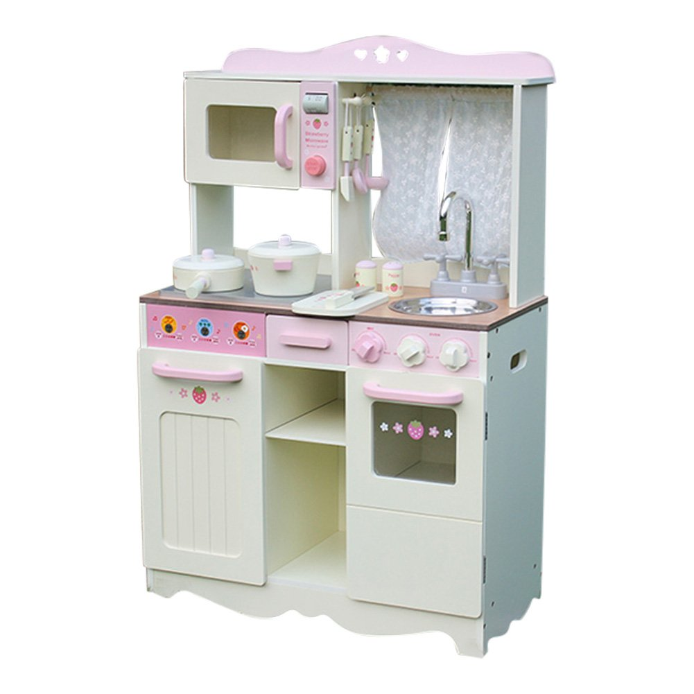 Liberty House Toys Country Wooden Toy Kitchen with Window: Amazon.co ...