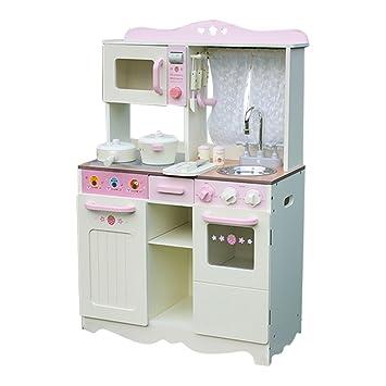 liberty house juguetes pas de madera de cocina de juguete con ventana