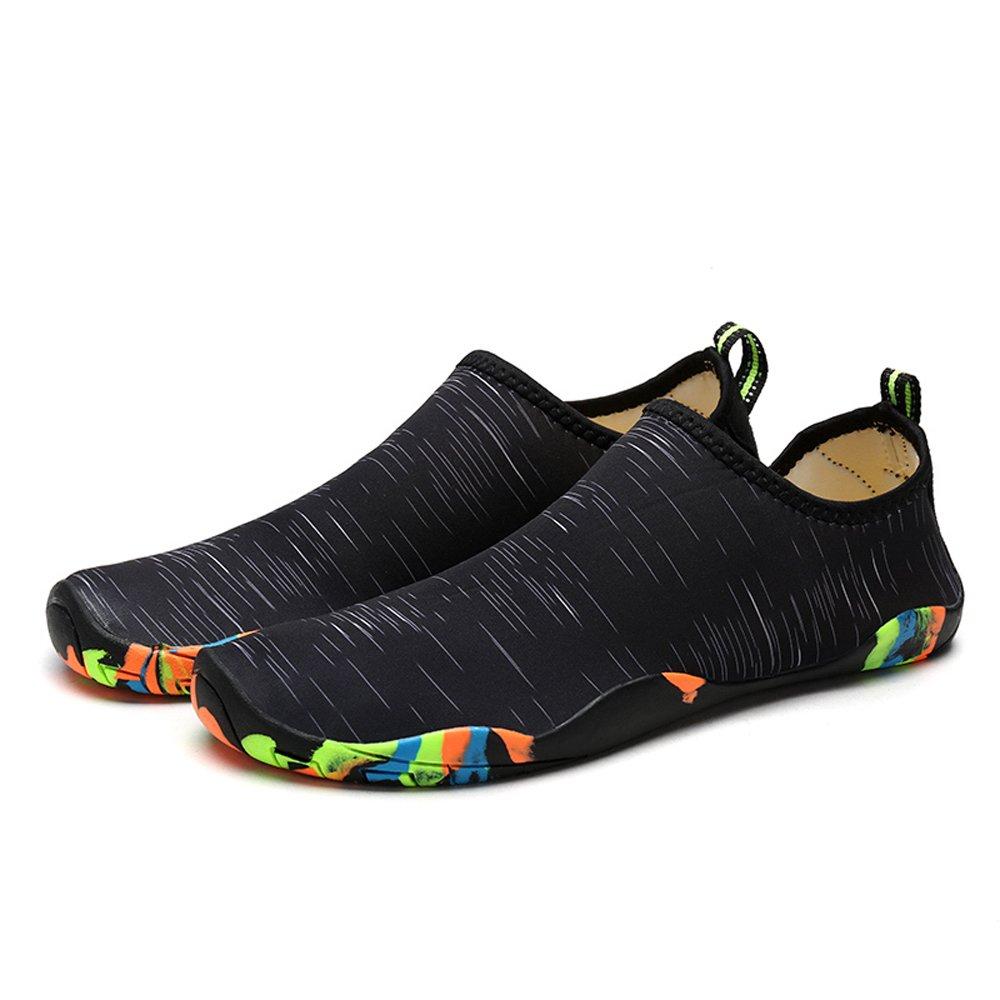 Water Shoes Quick-Dry Aqua Shoes for Men Women Water Aerobics B07BQQLMM9 8.5 US Women/6.5 US Men=9.64