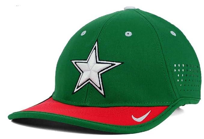 17bcd7bac5c0e3 Nike Men's L91 Star Vapor Dallas Cowboys Featherlight Green Hat Cap ...