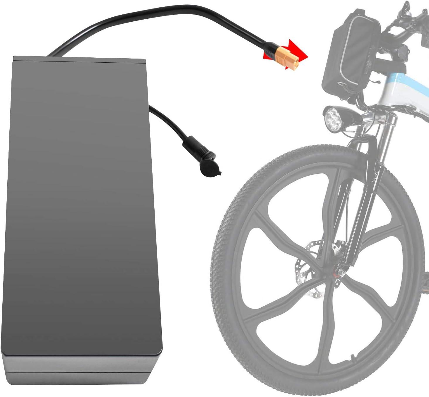 36V 8Ah Batterie f/ür E-Bike Elektrofahrrad 20 Zoll ANCHEER Herausnehmbare Lithium Akku