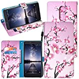 zte imperial cell phone covers - ZTE Zmax Pro Case,Harryshell Flip PU Wallet Leather Case Cover with Card Slots & Wrist Strap for ZTE Grand X Max 2 / ZTE Max Duo / ZTE Imperial Max Z963U / ZTE Kirk Z988 / ZTE Zmax Pro Z981 (A-06)