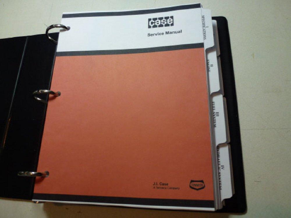 Case W8B, W9B, W10B Loader Service Repair Shop Manual pdf epub