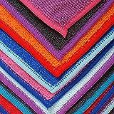 Yoga Mate Perfect Yoga Towel - Super Soft, Sweat Absorbent, Non-Slip Bikram Hot Yoga Towels | Perfect Size For Mat - Ideal For Hot Yoga & Pilates!