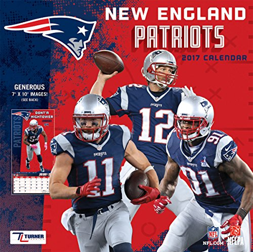 Turner Licensing Sport 2017 New England Patriots Mini Wall Calendar (17998040569)