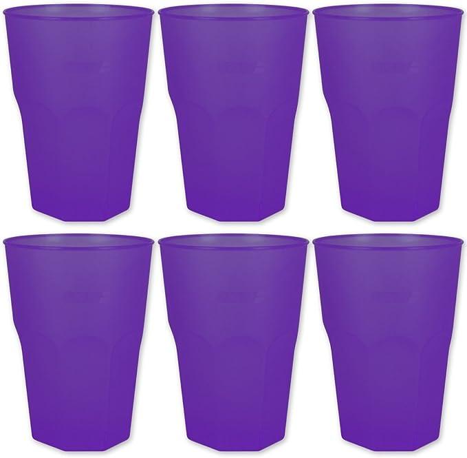 Plástico Vasos – Vasos Jardín Fiesta – Camping higiénicas ...