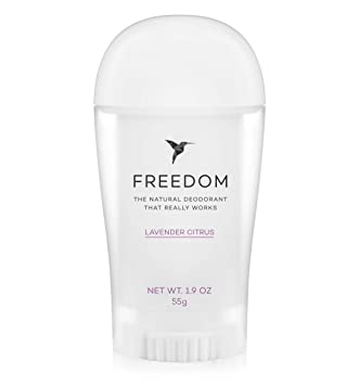 Amazon.com: Freedom Desodorante natural de aluminio libre de ...