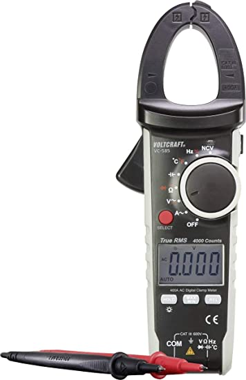 Voltcraft VC585 Stromzange Digital Kalibriert Nach: Amazon.de ...