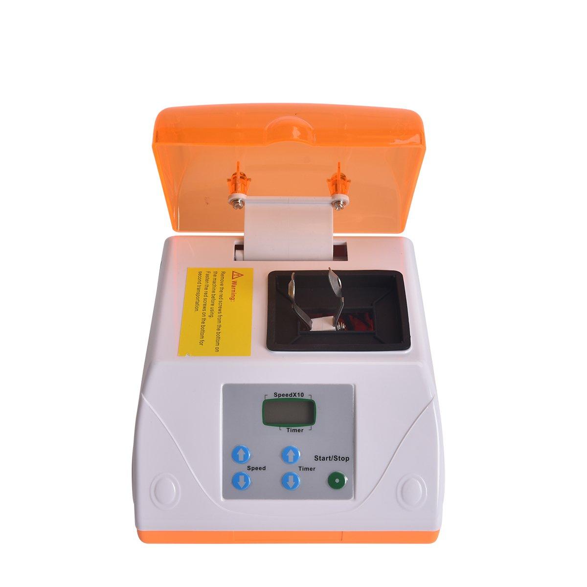 G8 Dental Digital Amalgamator, Amalgam Capsule Blend Mixer with Stepless Speed Regulation