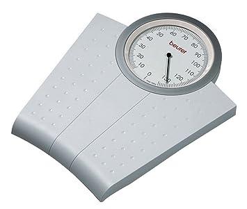 Beurer MS 50 - Báscula de baño mecánica, color blanco: Amazon.es: Salud y cuidado personal