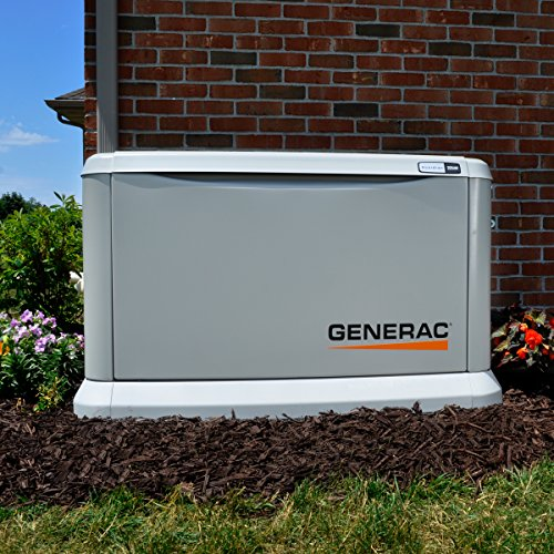 Generac 7043 Home Standby Generator 22kW/19.5kW Air Cooled with Whole House 200...
