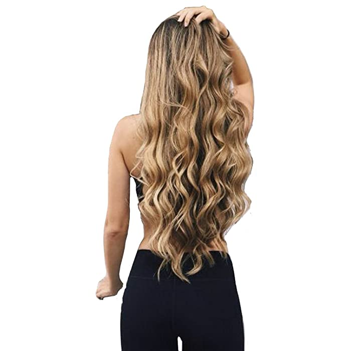 Amazon Focussexy Heat Resistant One Piece Hair Extensions Clip